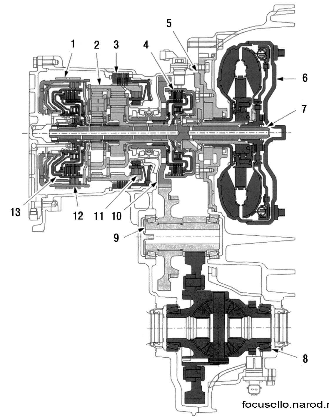 ford zetec exploded diagram